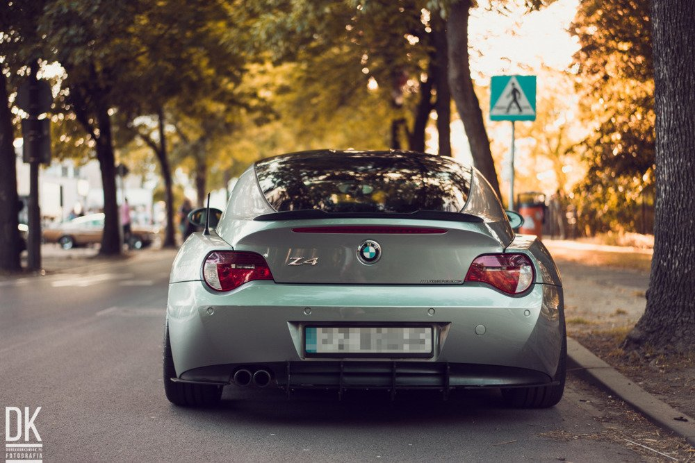 Rear Diffuser Bmw Z4 Coupe E86 Our Offer Bmw Z4