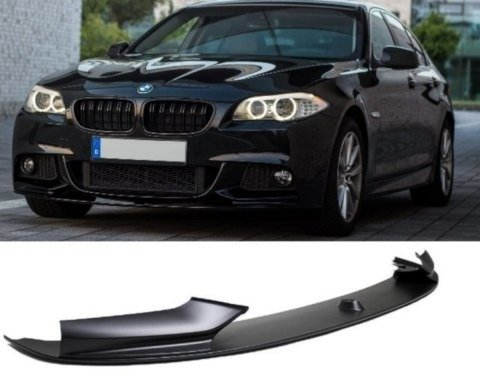 Frontspoiler Sport Performance Black Matt Bmw 5 Series F10 F11 With M Package