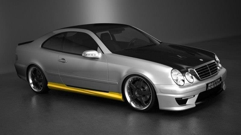 bodykit mercedes clk w208 our offer mercedes clk w 208 maxton design. Black Bedroom Furniture Sets. Home Design Ideas