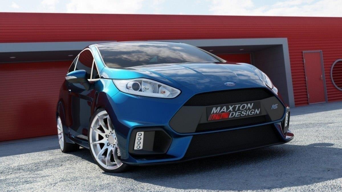 Front Bumper Fiesta Mk7 Facelift Focus Rs 2015 Look