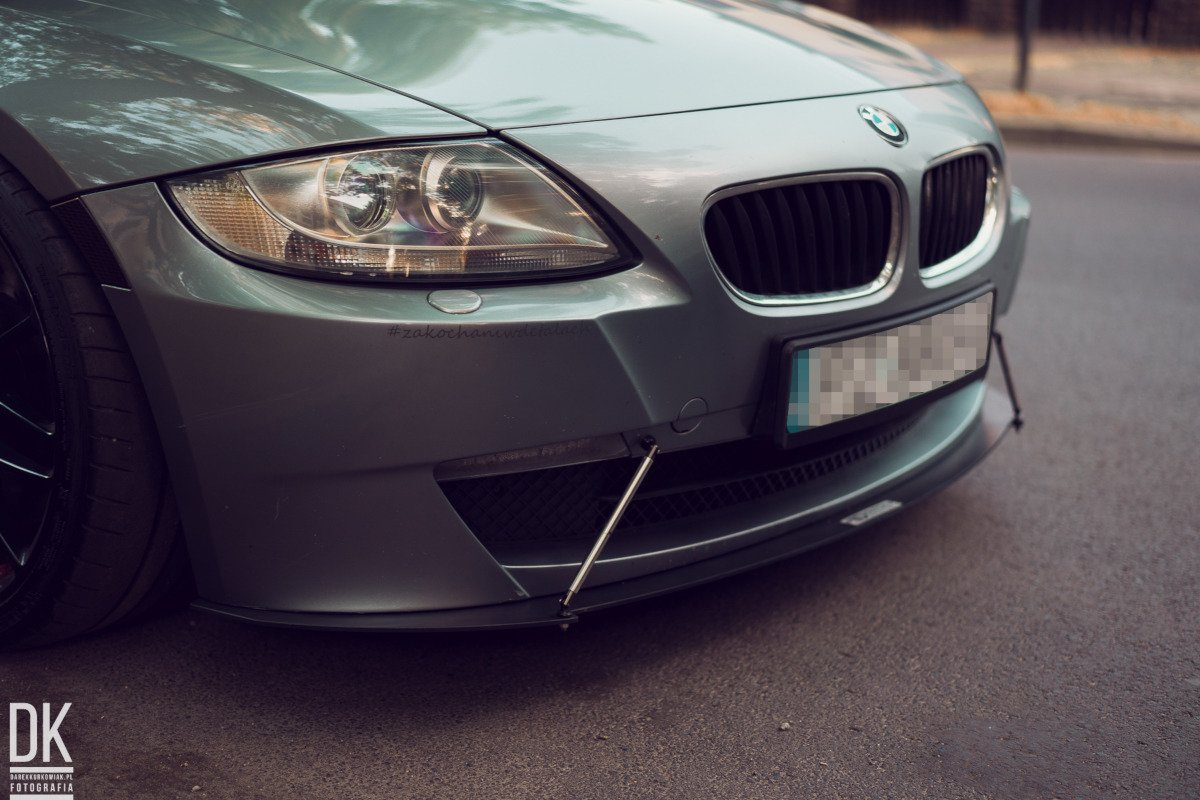 Front Racing Splitter Bmw Z4 Coupe E86 Our Offer Bmw
