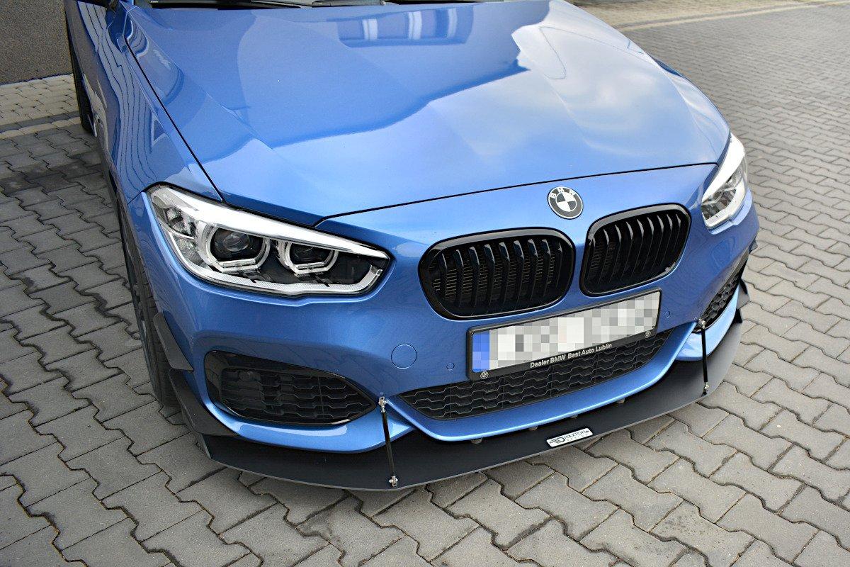 FRONT RACING SPLITTER V 2 BMW 1 F20/F21 M-Power FACELIFT
