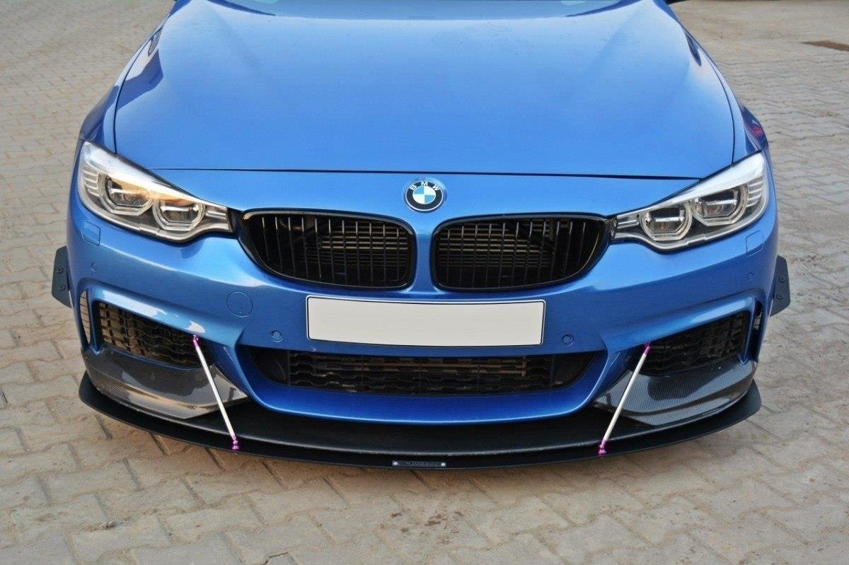 c2bdf1fc3e1 FRONT RACING SPLITTER v.3 BMW 4 F32 M-PACK & M-Performance | Our ...