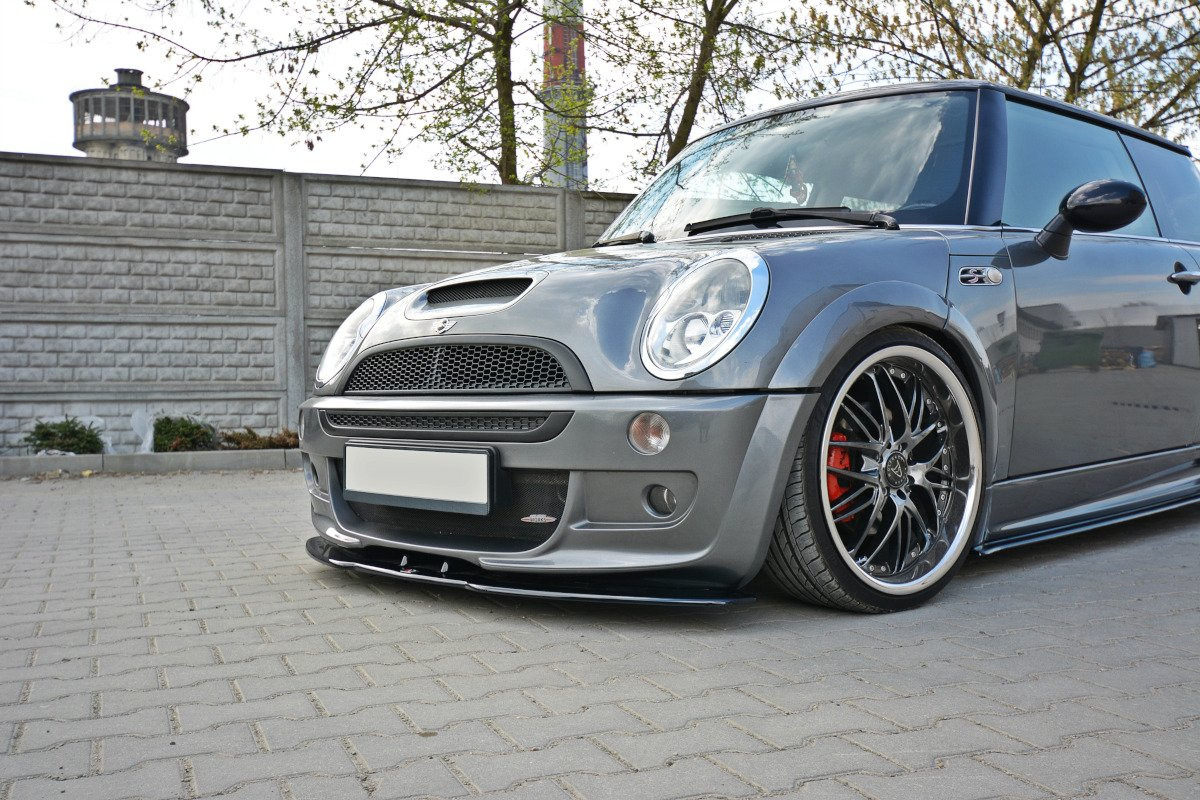 Front Splitter Mini R53 Cooper S Jcw Textured Our Offer Mini