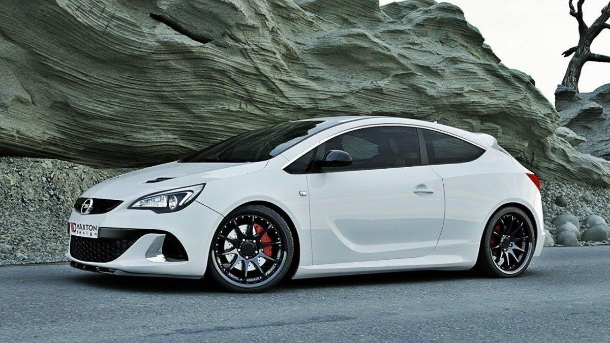front splitter opel astra j opc vxr nurburg gloss black our offer opel astra opc j. Black Bedroom Furniture Sets. Home Design Ideas