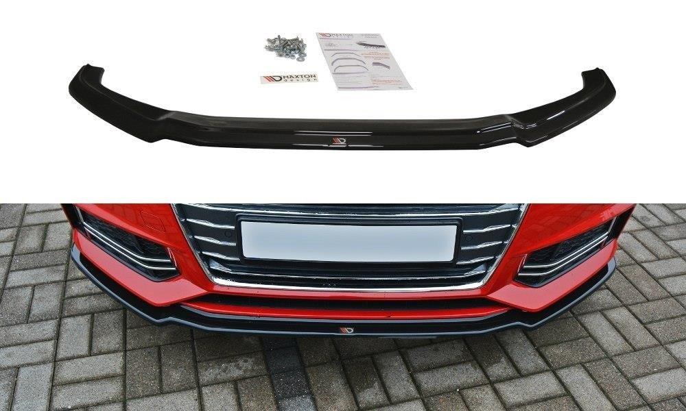 Front Splitter V1 Audi A4 B9 S Line Gloss Black Our Offer Audi