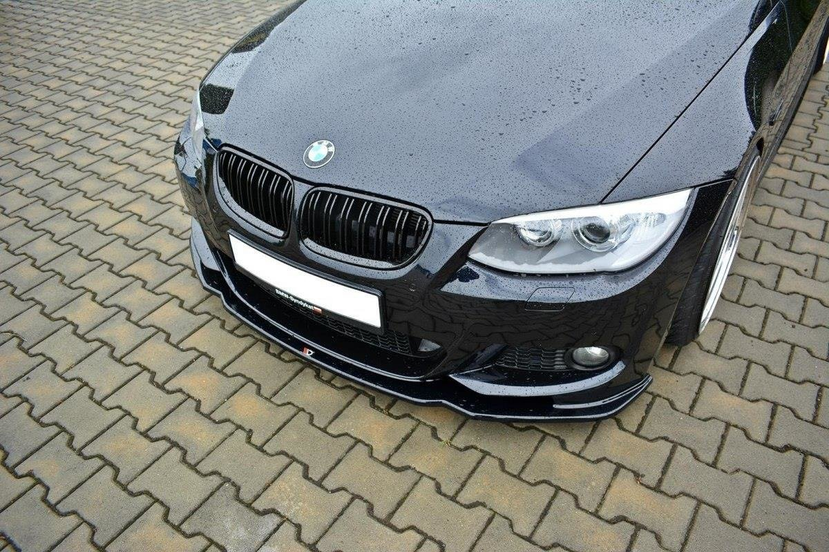 Front Splitter V2 Bmw 3 E92 M Pack Facelift Gloss Black Our Offer