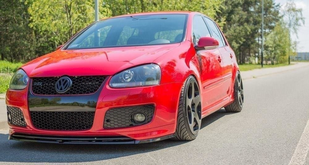 Front Splitter Vw Golf V Gti For Gti 30th Front Bumper Spoiler