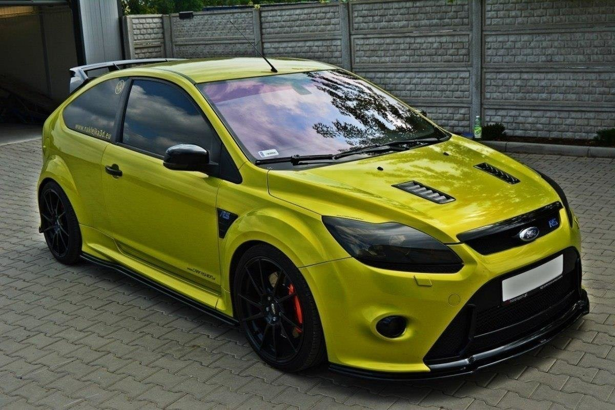Front Splitter V 2 Ford Focus Mk2 Rs