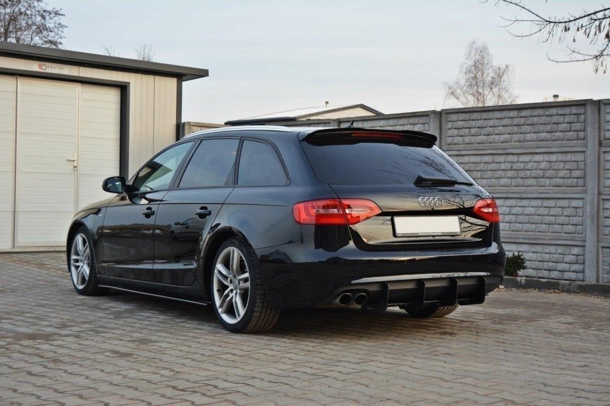 Rear Diffuser Audi A4 B8 Avant Facelift