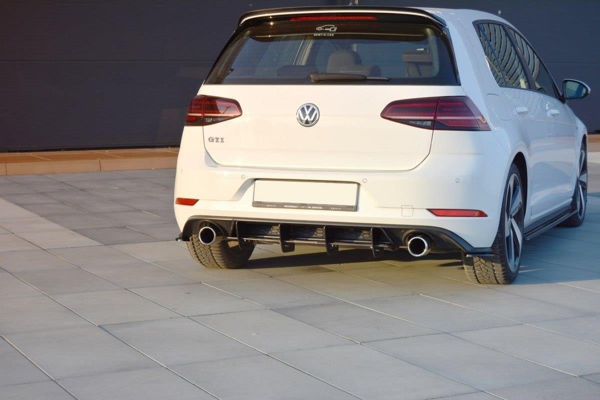 rear diffuser vw golf mk7 gti facelift our offer. Black Bedroom Furniture Sets. Home Design Ideas