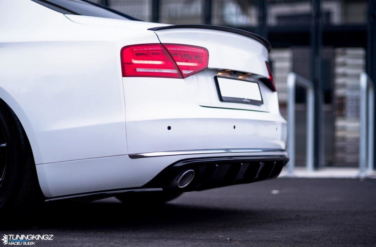 Rear Side Splitters Audi A8 D4