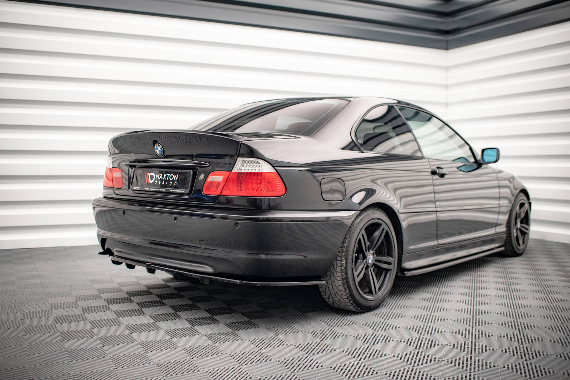 Rear Spoiler Lid Extension Bmw 3 E46 Coupe Preface M3 Csl Look For Painting