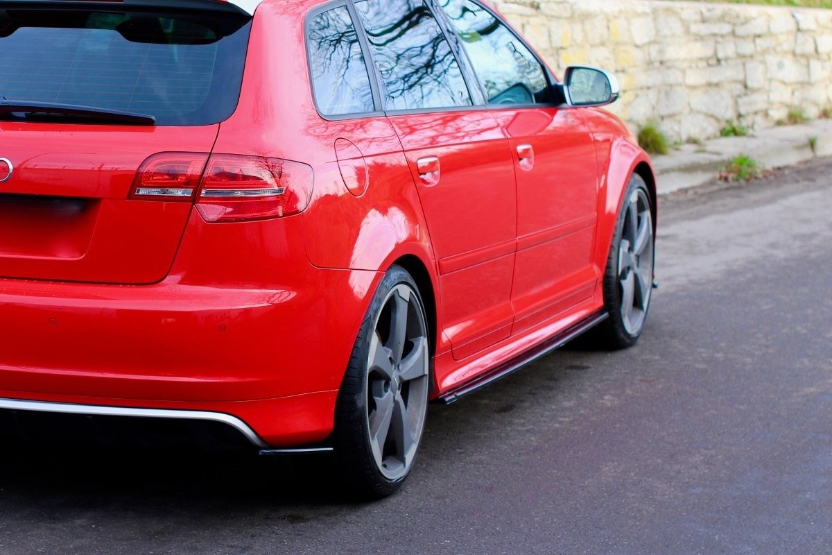 SIDE SKIRTS DIFFUSERS AUDI S3 8P (FACELIFT MODEL) 2009 ...