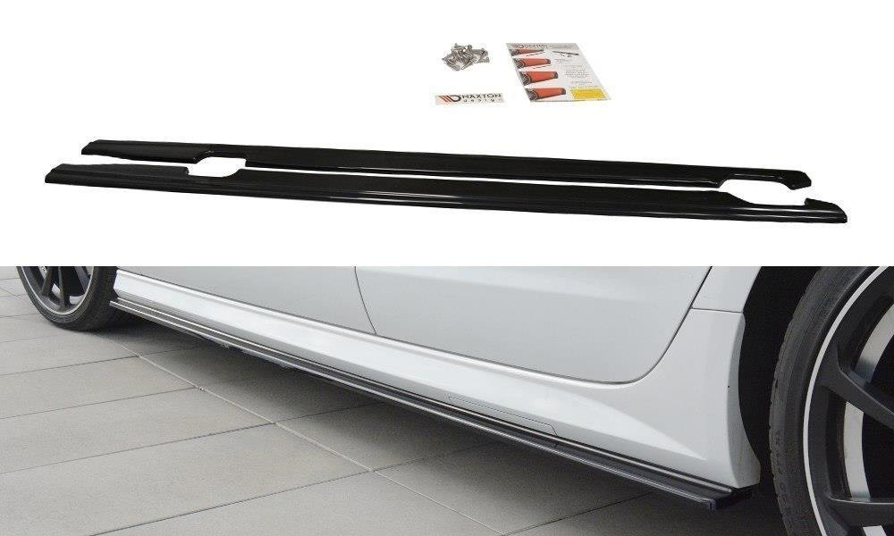 SIDE SKIRTS DIFFUSERS Audi A6 C7 S-line/ S6 C7 Facelift