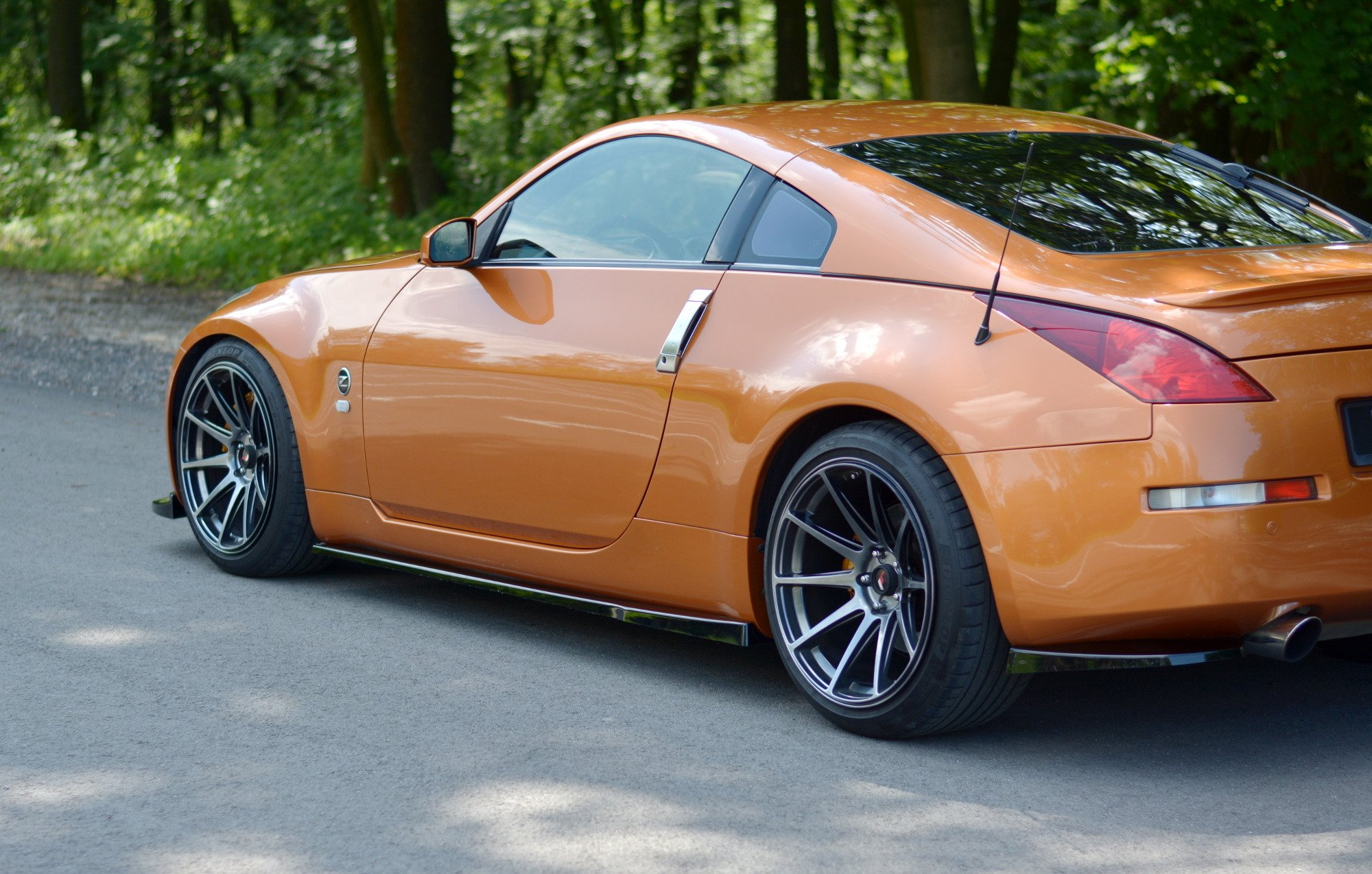 SIDE SKIRTS DIFFUSERS NISSAN 350Z