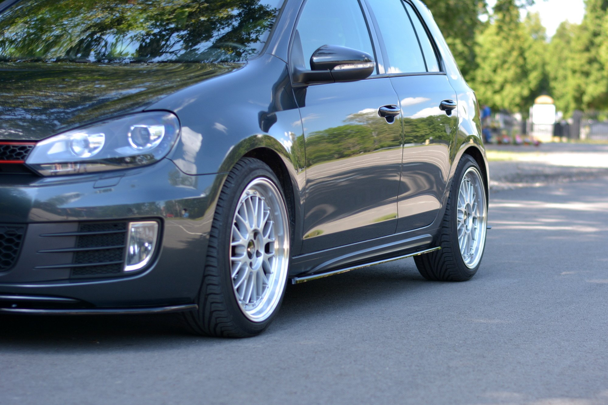reputable site undefeated x new design SIDE SKIRTS DIFFUSERS VW GOLF MK6 GTI/ GTD