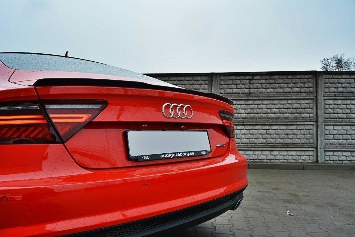 Spoiler Extension Audi A7 S Line Facelift