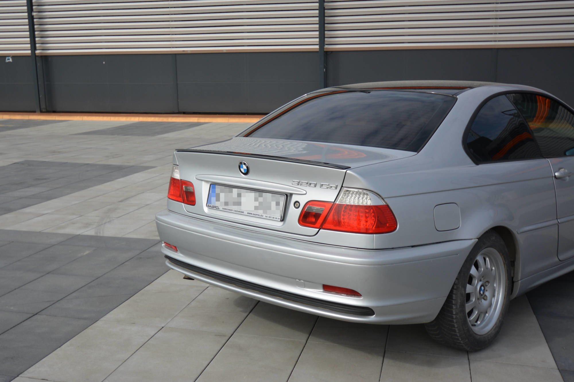 Spoiler Extension Bmw 3 E46 Coupe Preface