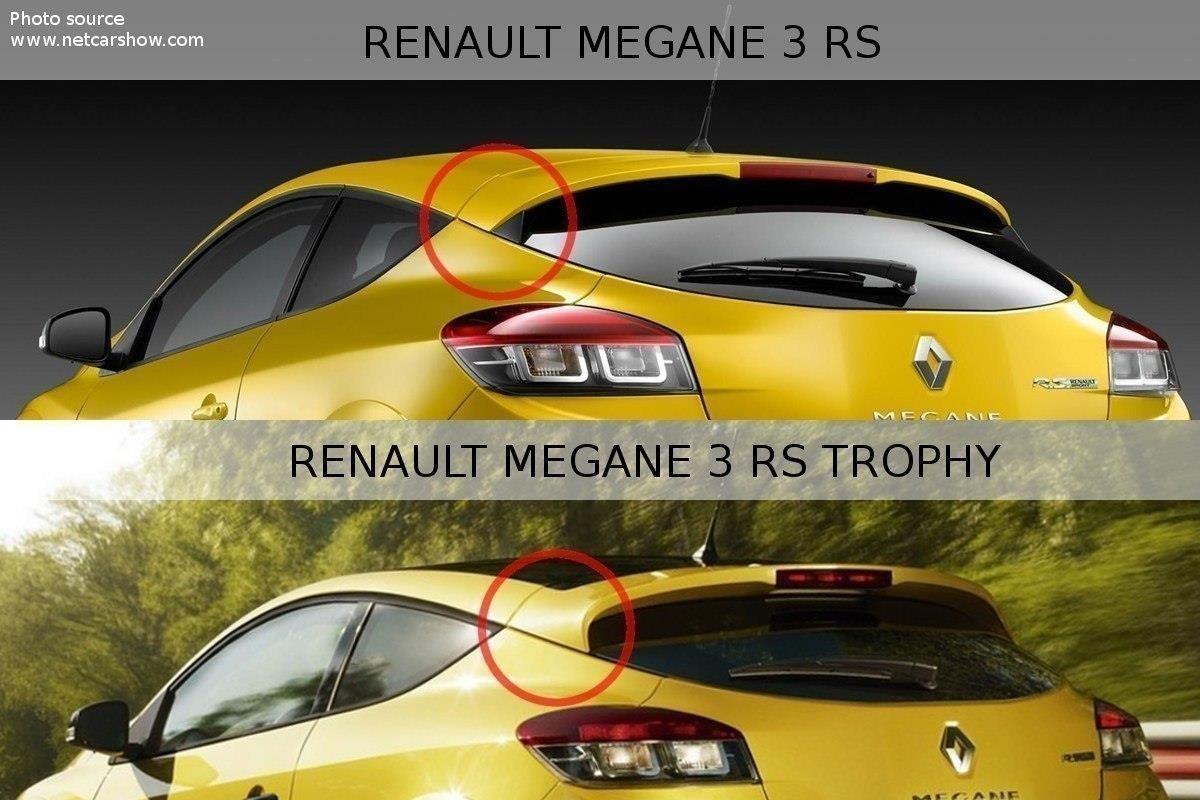 Spoiler Extension Renault Megane Mk3 Rs Trophy