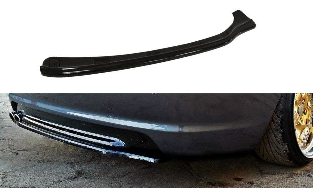 CENTRAL REAR SPLITTER BMW 3 E46 MPACK COUPE (without vertical bars)