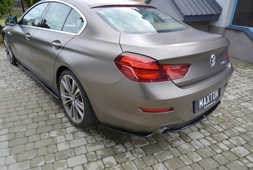 CENTRAL REAR SPLITTER BMW 6 GRAN COUPÉ