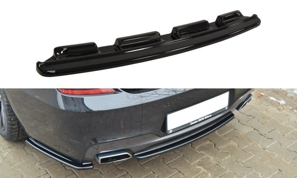 CENTRAL REAR SPLITTER BMW 6 Gran Coupé MPACK (without vertical bars)