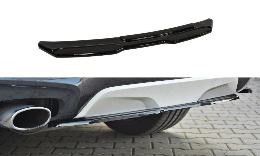 CENTRAL REAR SPLITTER BMW X4 M-PACK (without a vertical bar)
