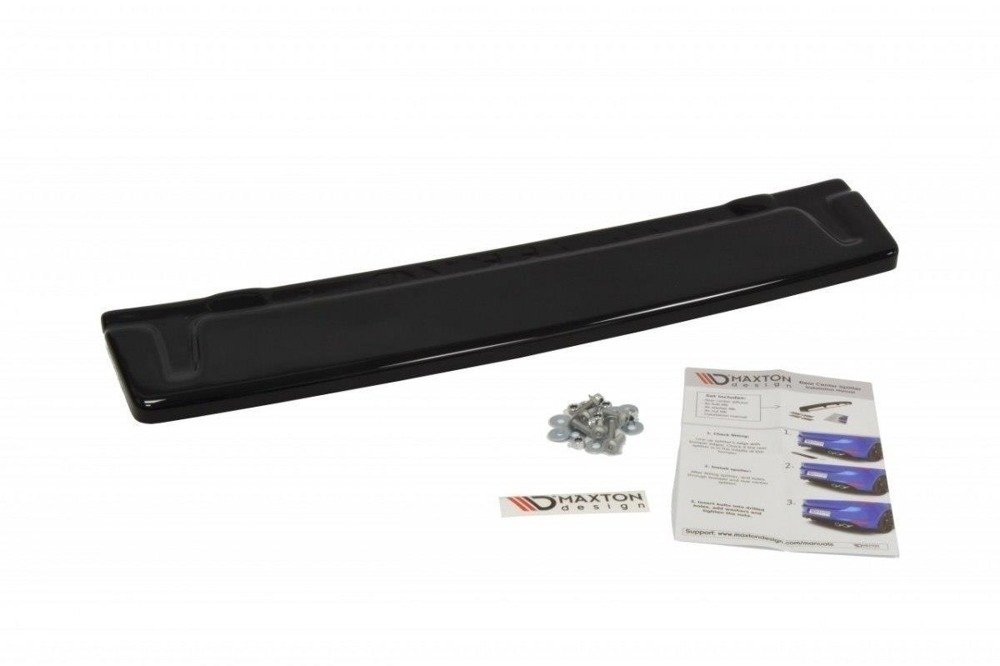 CENTRAL REAR SPLITTER VW GOLF VII R (without vertical bars)