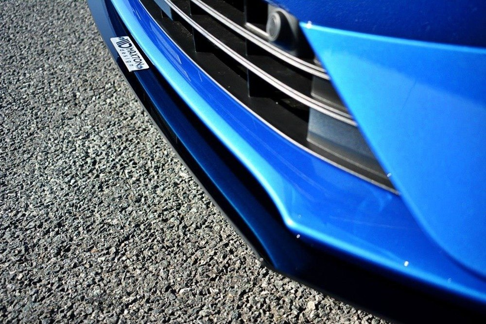 FRONT RACING SPLITTER V.1 (gloss black) Ford Focus Mk4 ST-Line