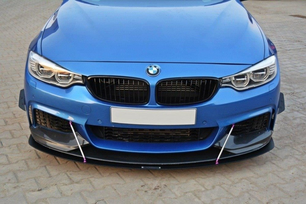 FRONT RACING SPLITTER v.3 BMW 4 F32 M-PACK & M-Performance