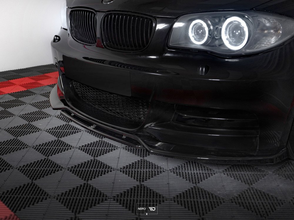FRONT SPLITTER V.1 BMW 1 E82 FACELIFT M-PACK