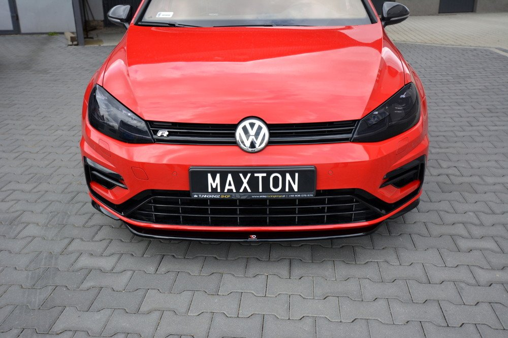 FRONT SPLITTER V.5 VW GOLF 7 R FACELIFT