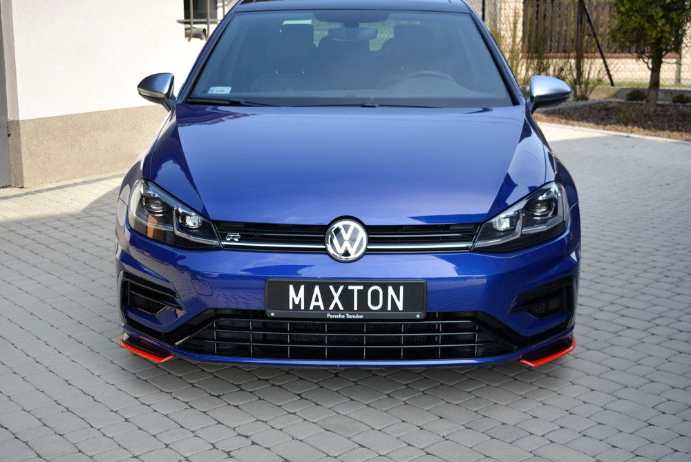 FRONT SPLITTER V.8 VW GOLF 7 R FACELIFT