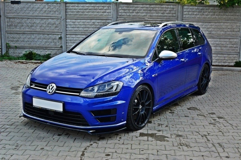 FRONT SPLITTER VW GOLF MK7 R v.2