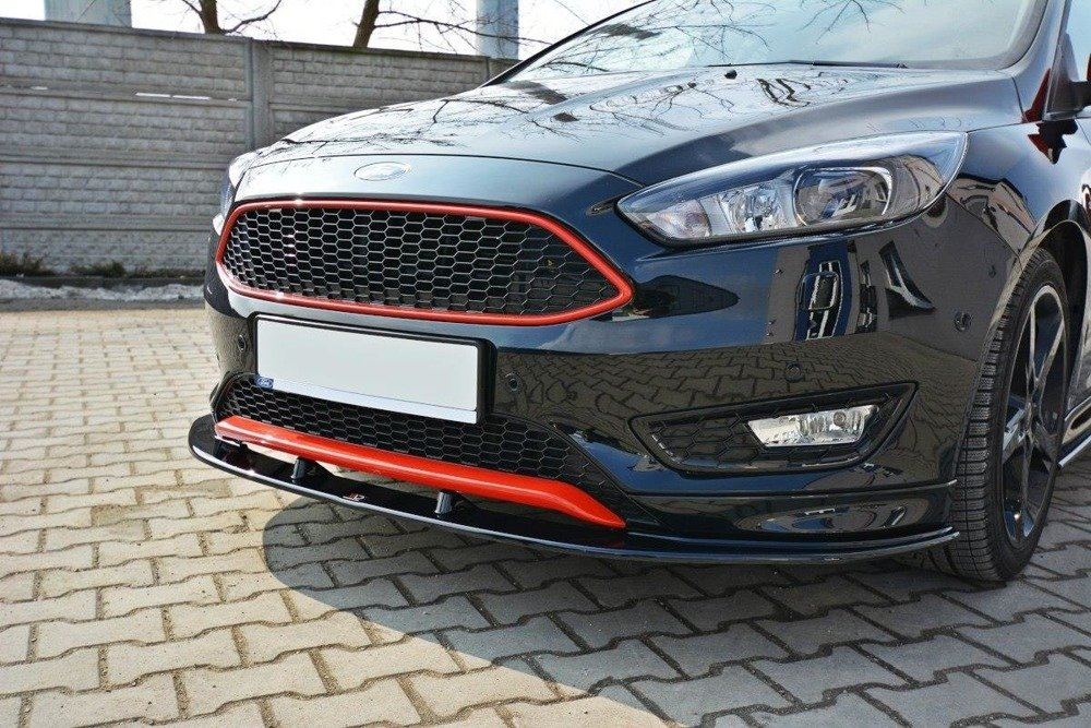 FRONT SPLITTER v.1 FORD FOCUS 3 ST-LINE (FACELIFT)