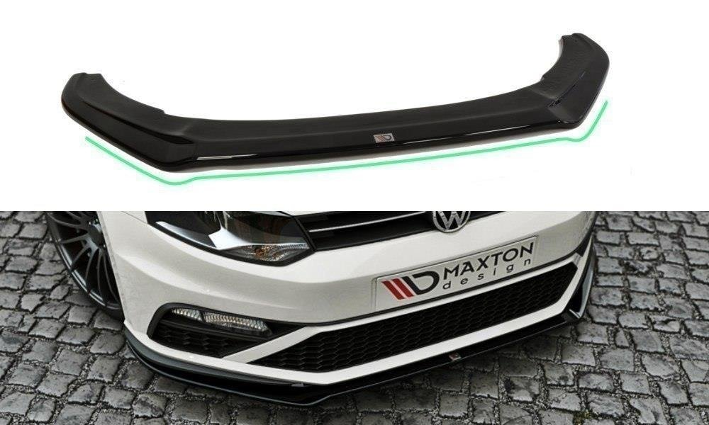 FRONT SPLITTER v.2 VW POLO MK5 GTI (FACELIFT)