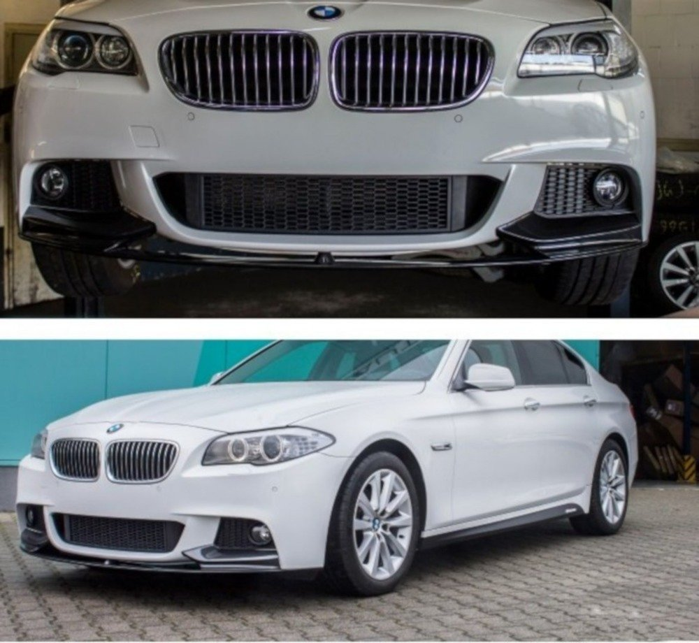 Frontspoiler Sport-Performance Black Matt BMW 5 Series F10 F11 with M-Package