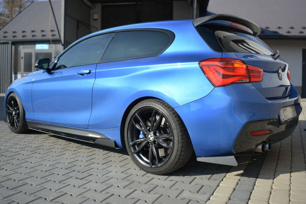 RACING SIDE SKIRTS DIFFUSERS BMW 1 F20/F21 M-POWER FACELIFT