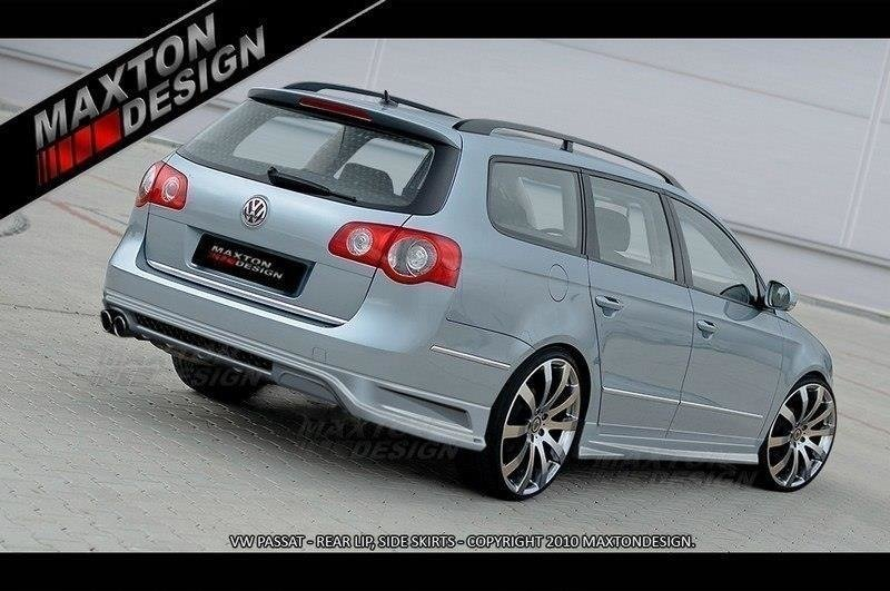 REAR BUMPER EXTENSION VW PASSAT B6 (3C) ESTATE