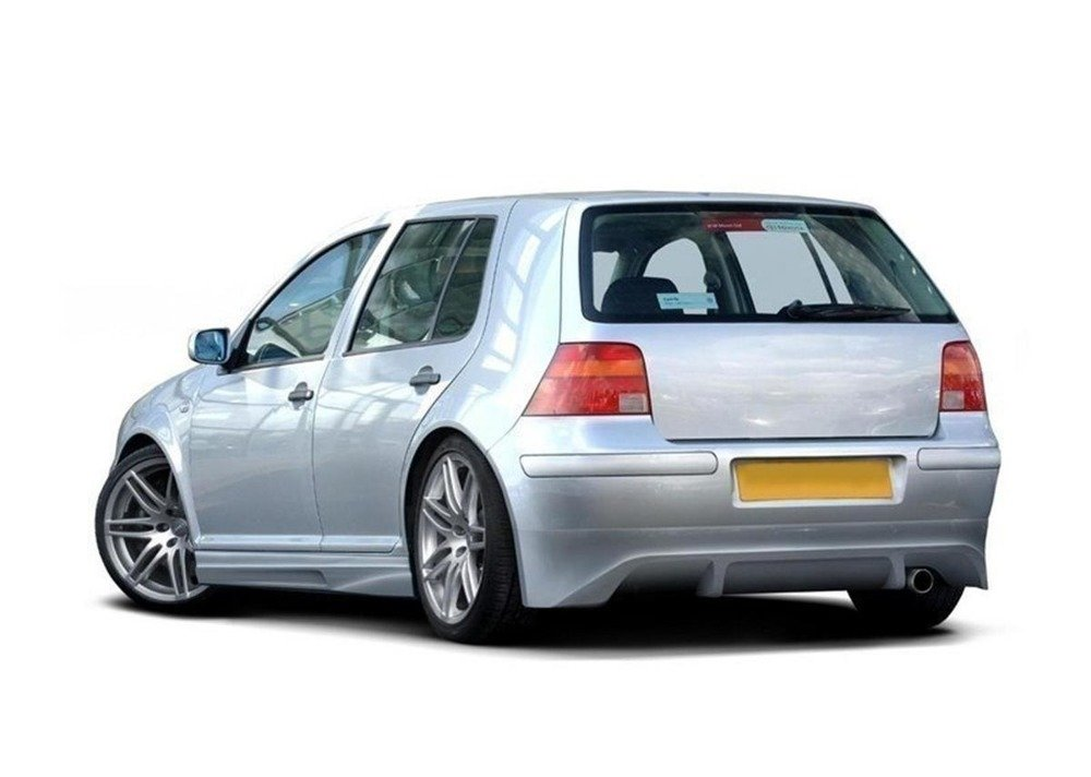Rear bumper extension VW Golf IV hatchback