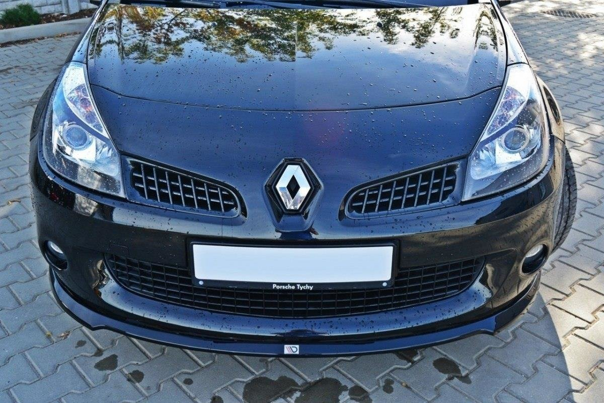 Lame Du Pare Chocs Avant Renault Clio Iii Rs