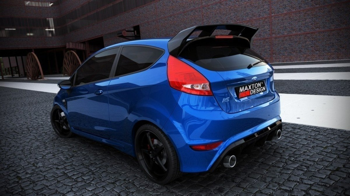 spoiler dachowy ford fiesta mk7 focus rs look not primed. Black Bedroom Furniture Sets. Home Design Ideas