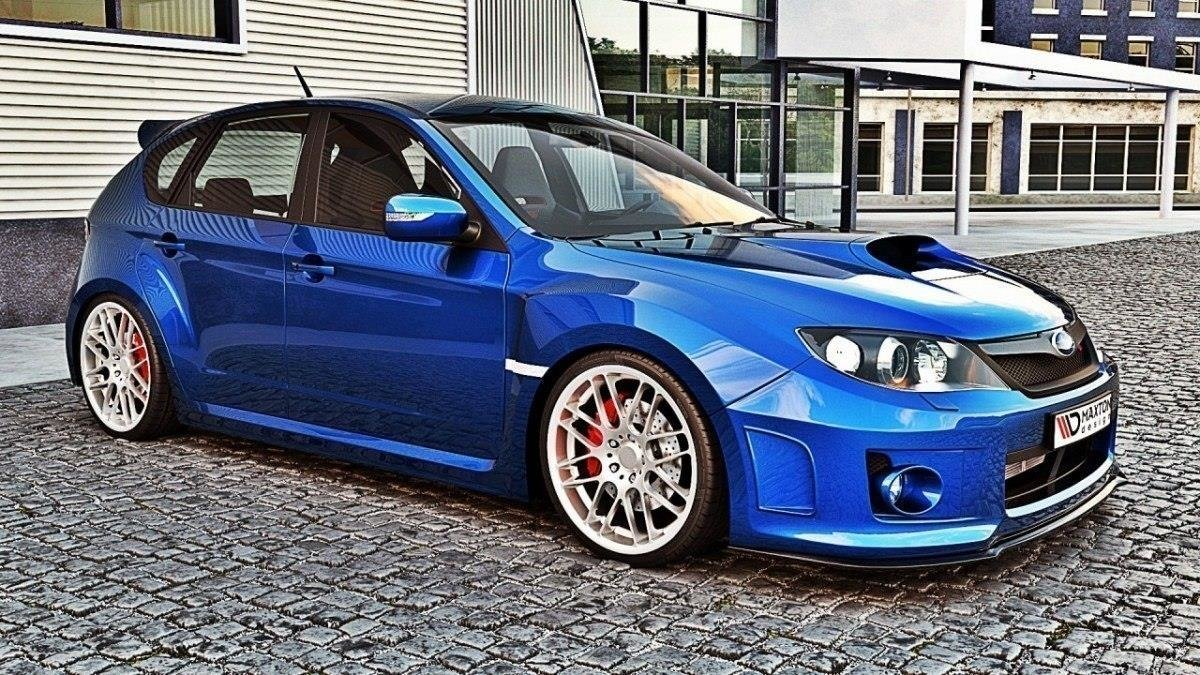 2014 Subaru Impreza Wrx Sti >> Front Diffusor Subaru Impreza Wrx Sti 2011 2014