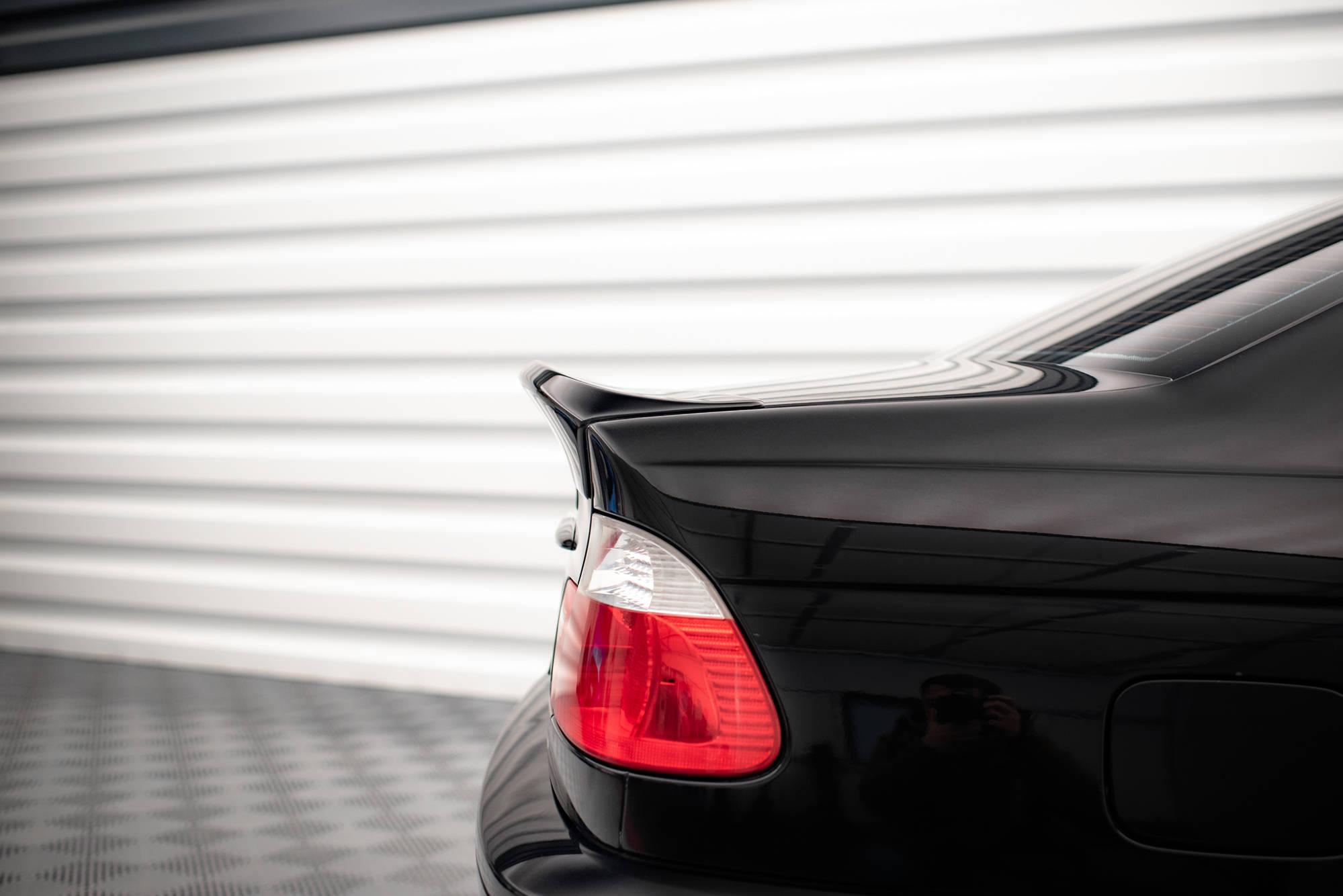 Heckspoiler Kofferraumdeckel Erweiterung Bmw 3 E46 Coupe Vor