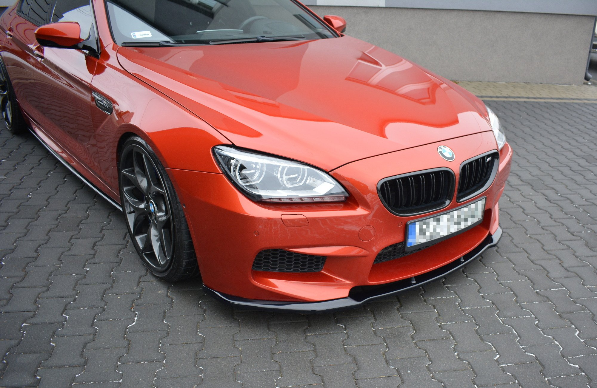 BMW M6 Gran Coupe >> Splitter Frontansatz Bmw M6 Gran Coupe