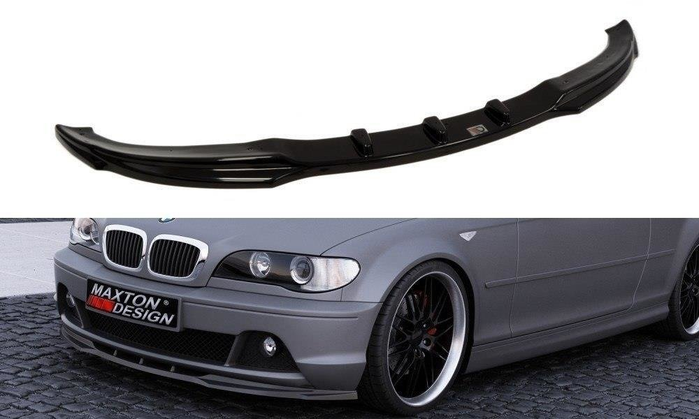 FRONT DIFFUSOR BMW 3 E46 COUPE NACHFACELIFT