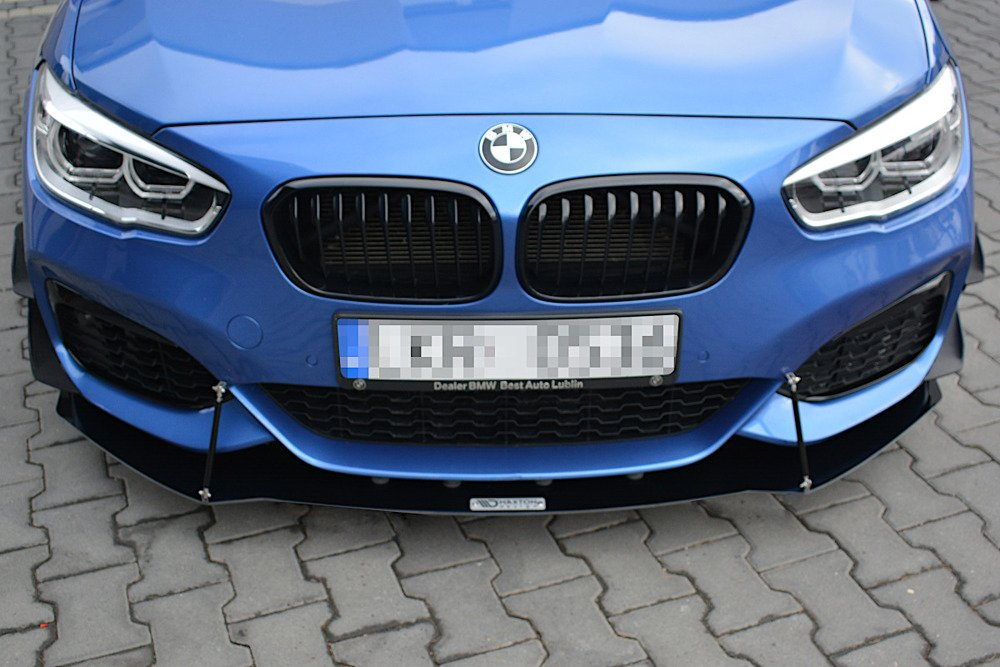 FRONT SPORT DIFFUSOR V.1 BMW 1 F20/F21 M-Power FACELIFT