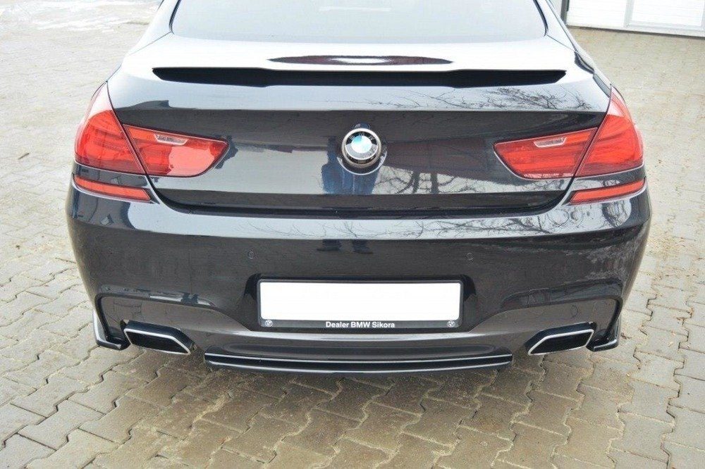 HECK DIFFUSOR SEITE L + R BMW 6 Gran Coupé MPACK