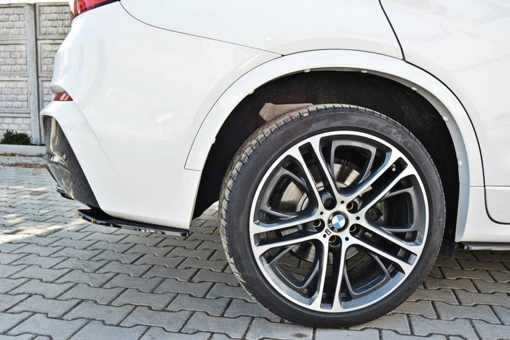 HECK DIFFUSOR SEITE L + R BMW X4 M-PACK